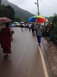 Regen in Dharamsala