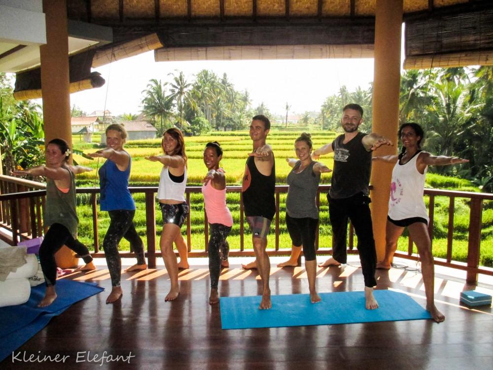Yoga im Ubud Yoga House