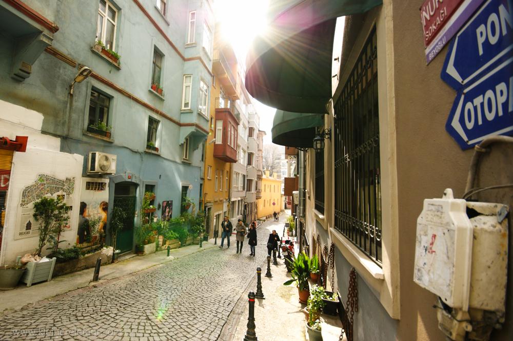 Straße Istanbul