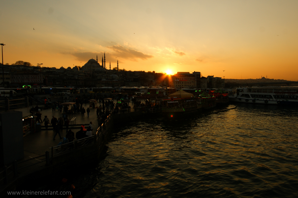 Sonnenuntergang Istanbul