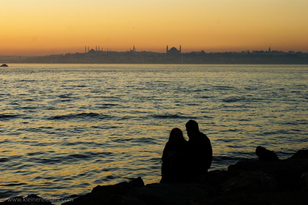 Sonnenuntergang Kadiköy