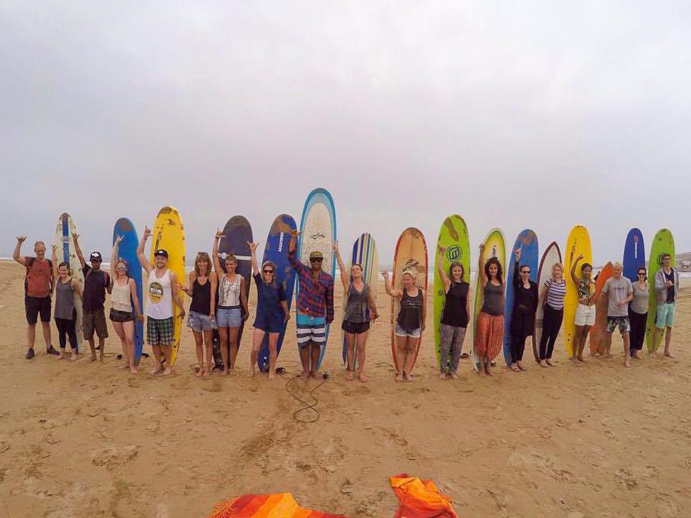Yoga und Surf Retreat Marokko