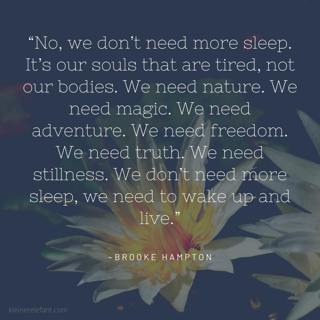 Brooke Hampton Quote