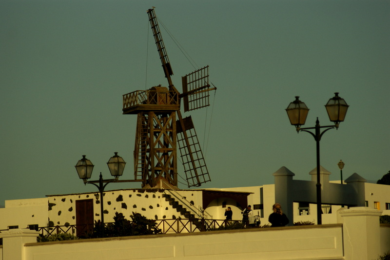 Windmühle in Teguise.