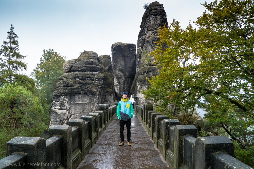 Basteibrücke im Elbsandsteingebirge