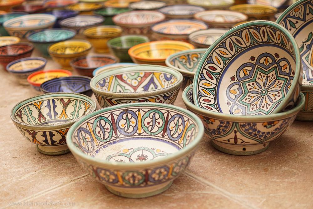 Keramik in Essaouira
