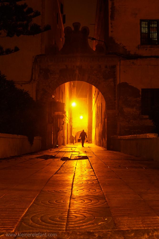 Essaouira bei Nacht