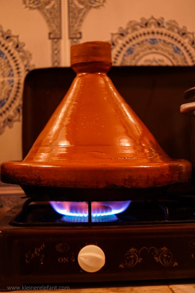 Eine echte, marokkanische Tajine
