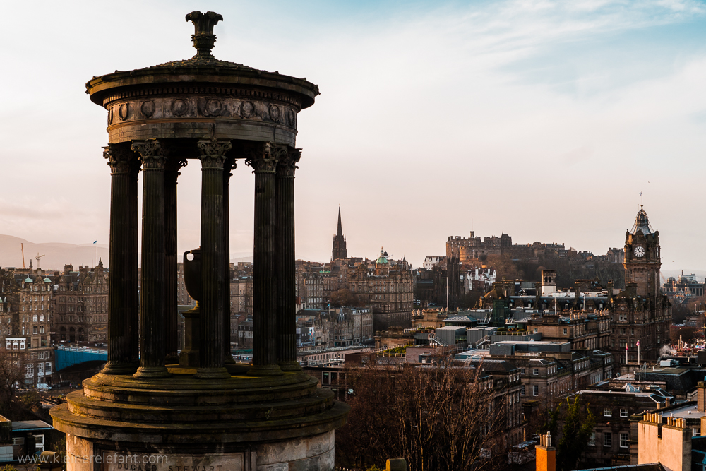 Dugal Monument in Edinburgh