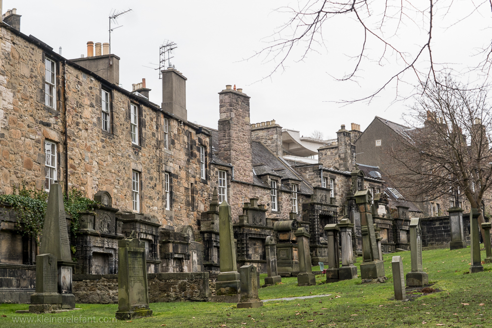 Greyfriars Kirkyard in Edinburgh