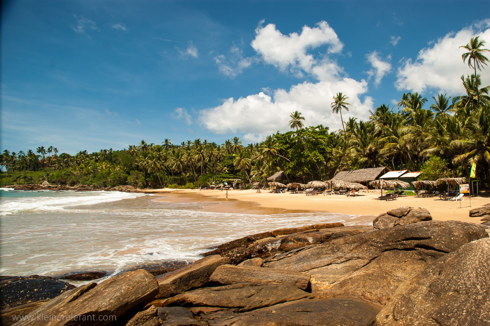 Strand in Sri Lanka