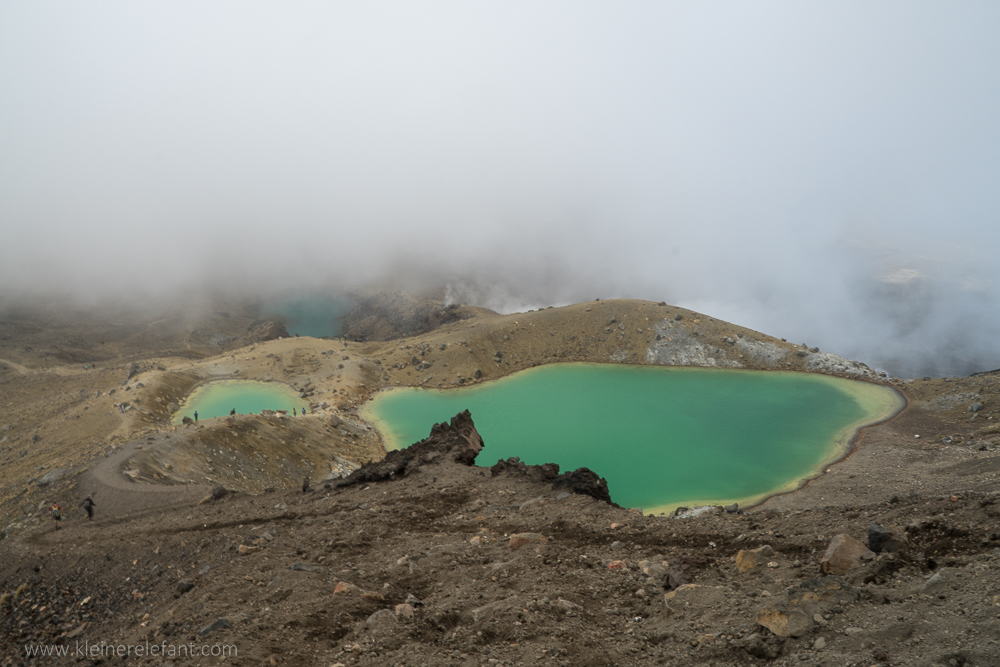 Emerald Lakes Tongariro Nationalpark