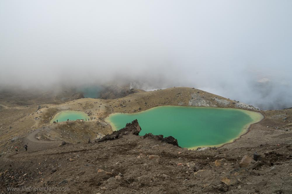 Emerald Lakes Tongariro Nationalpark