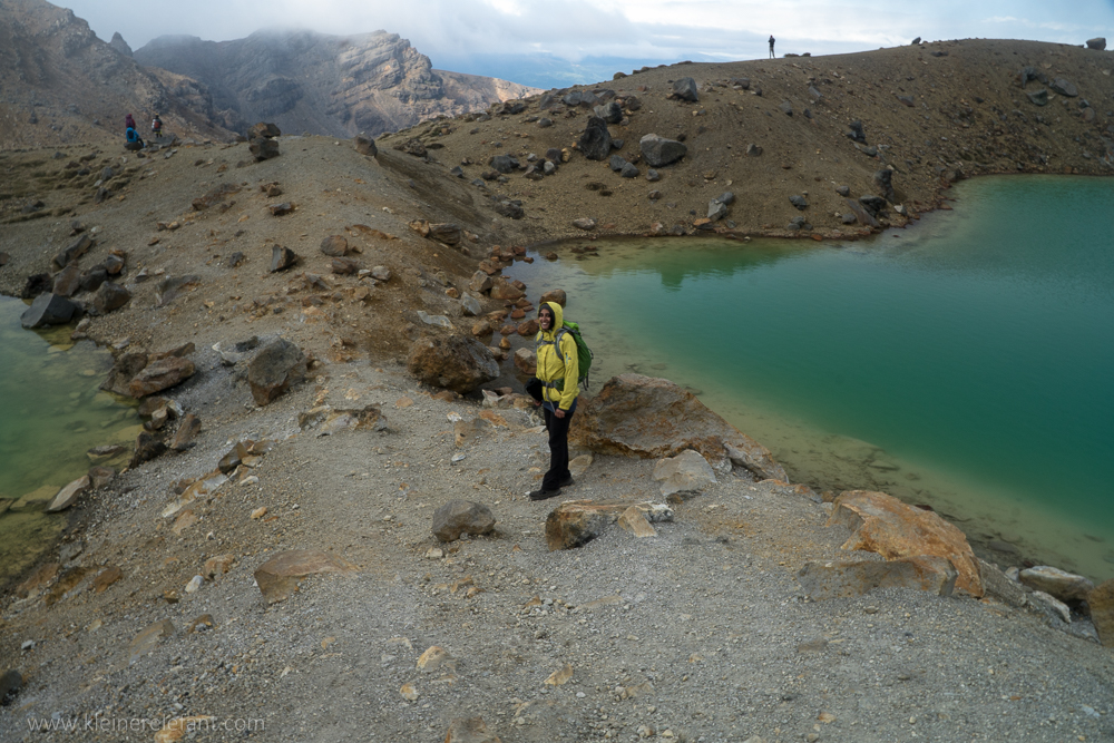 Emerald Lakes at Tongariro Nationalpark