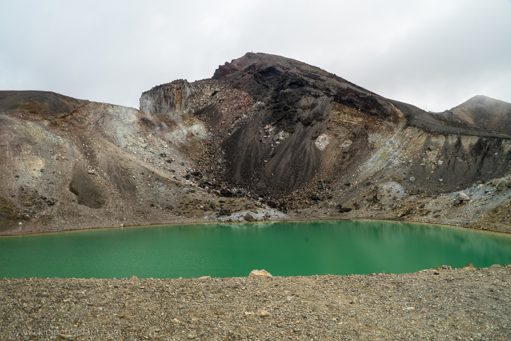 Emerald Lake at Tongariro Nationalpark