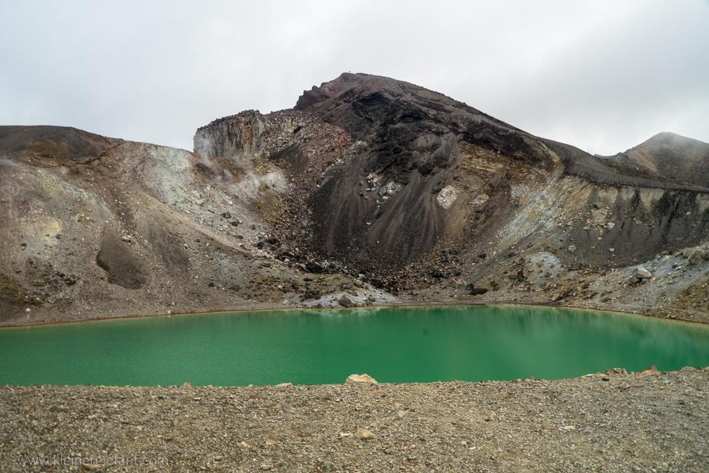 Emerald Lake at Tongariro Nationalpark