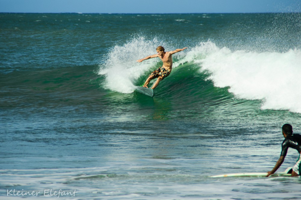 Surfer in Arugam Bay