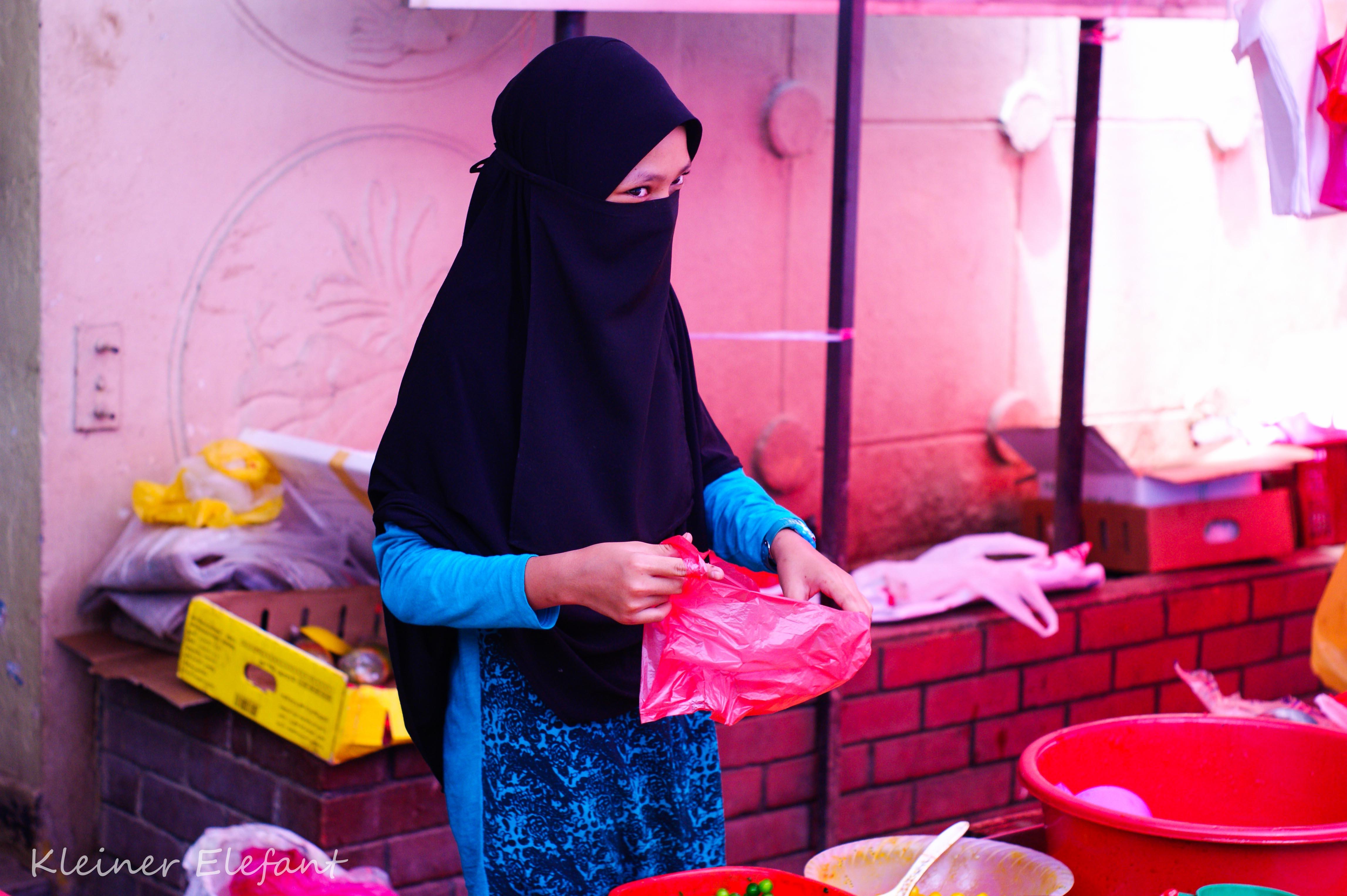 Verkäuferin Kuala Lumpur