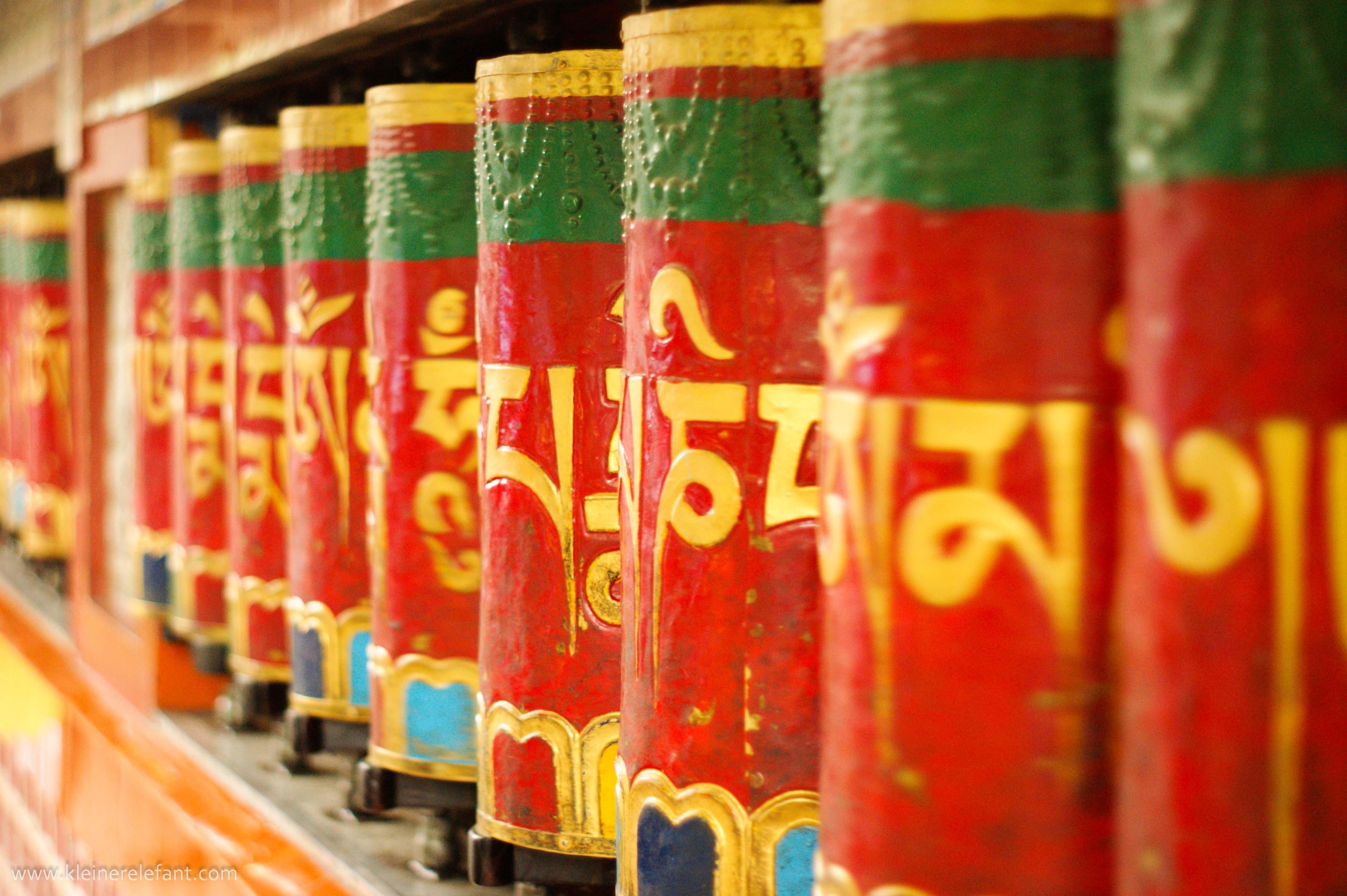 Gebetsmühlen Dharamsala