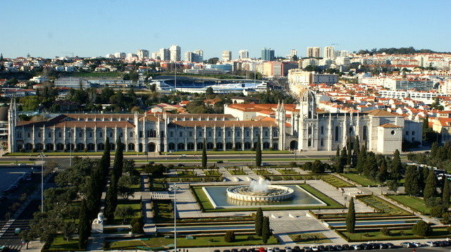 Die Mosteiro dos Jerónimos ist eines der schönsten Bauwerke Lissabons.