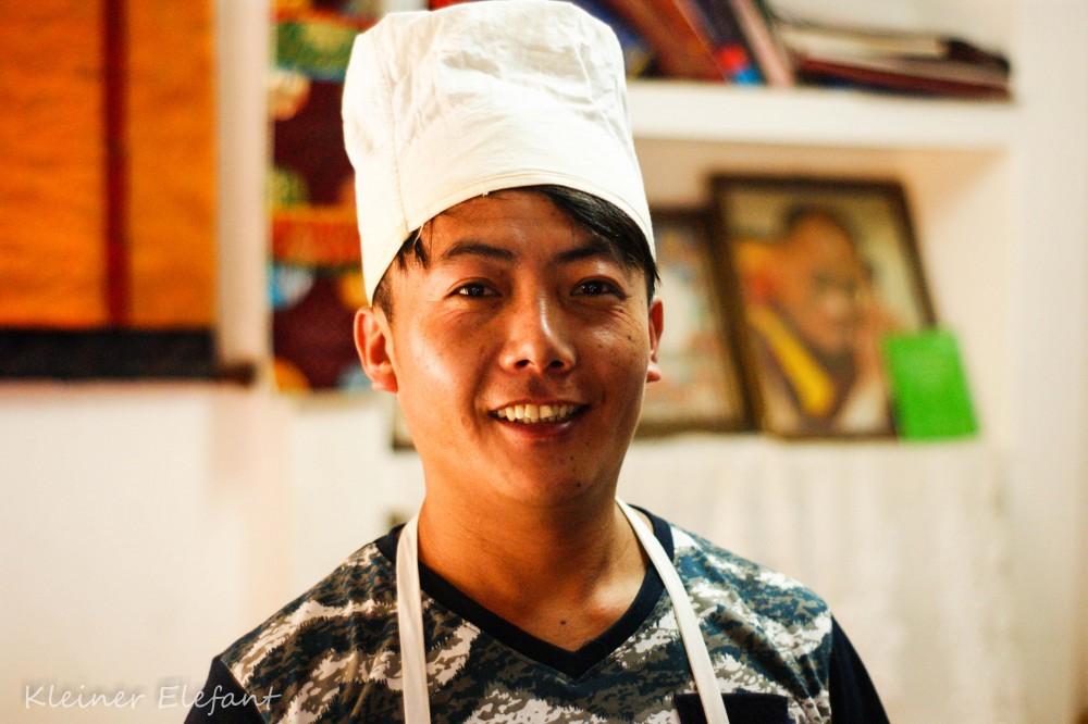 Lhamo, unser Chefkoch