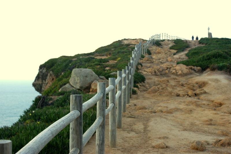 Wandern an der Cabo da Roca.