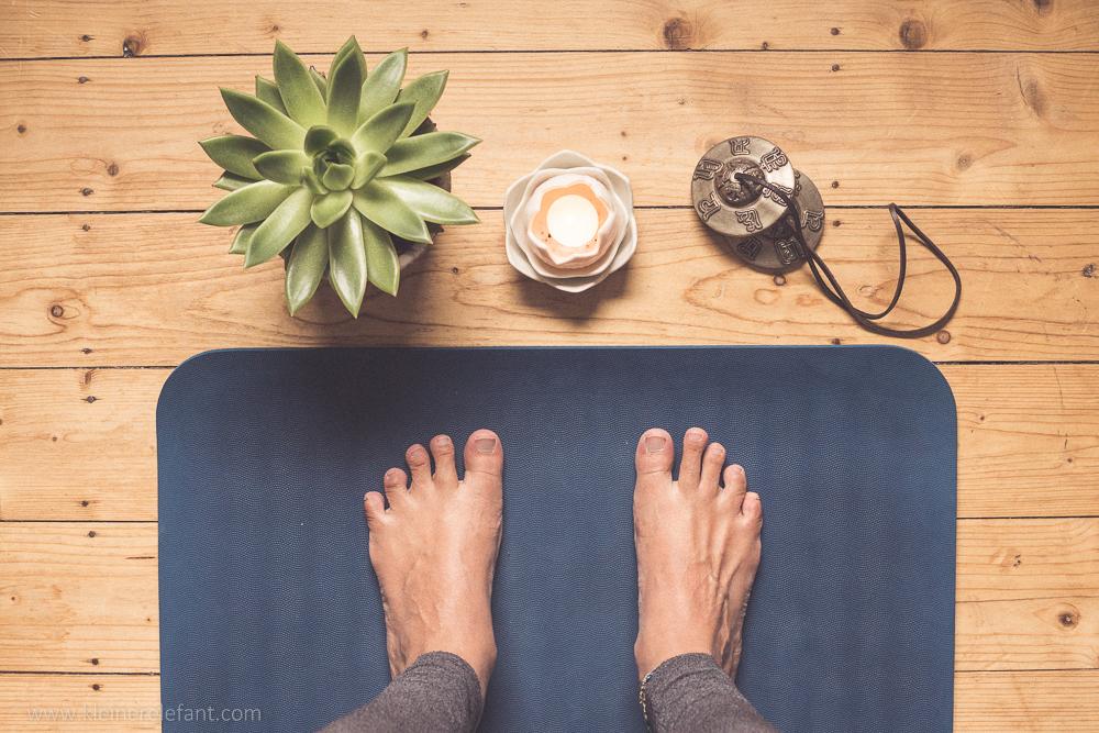 Yogamatte aus Naturkautschuk