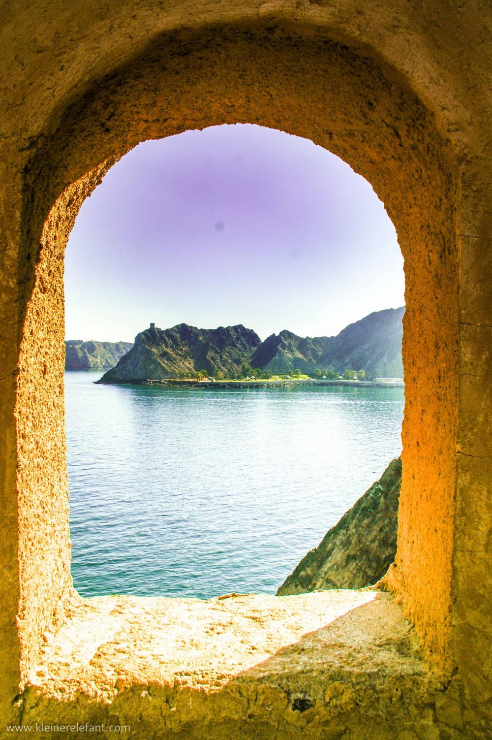 Fenster im Oman