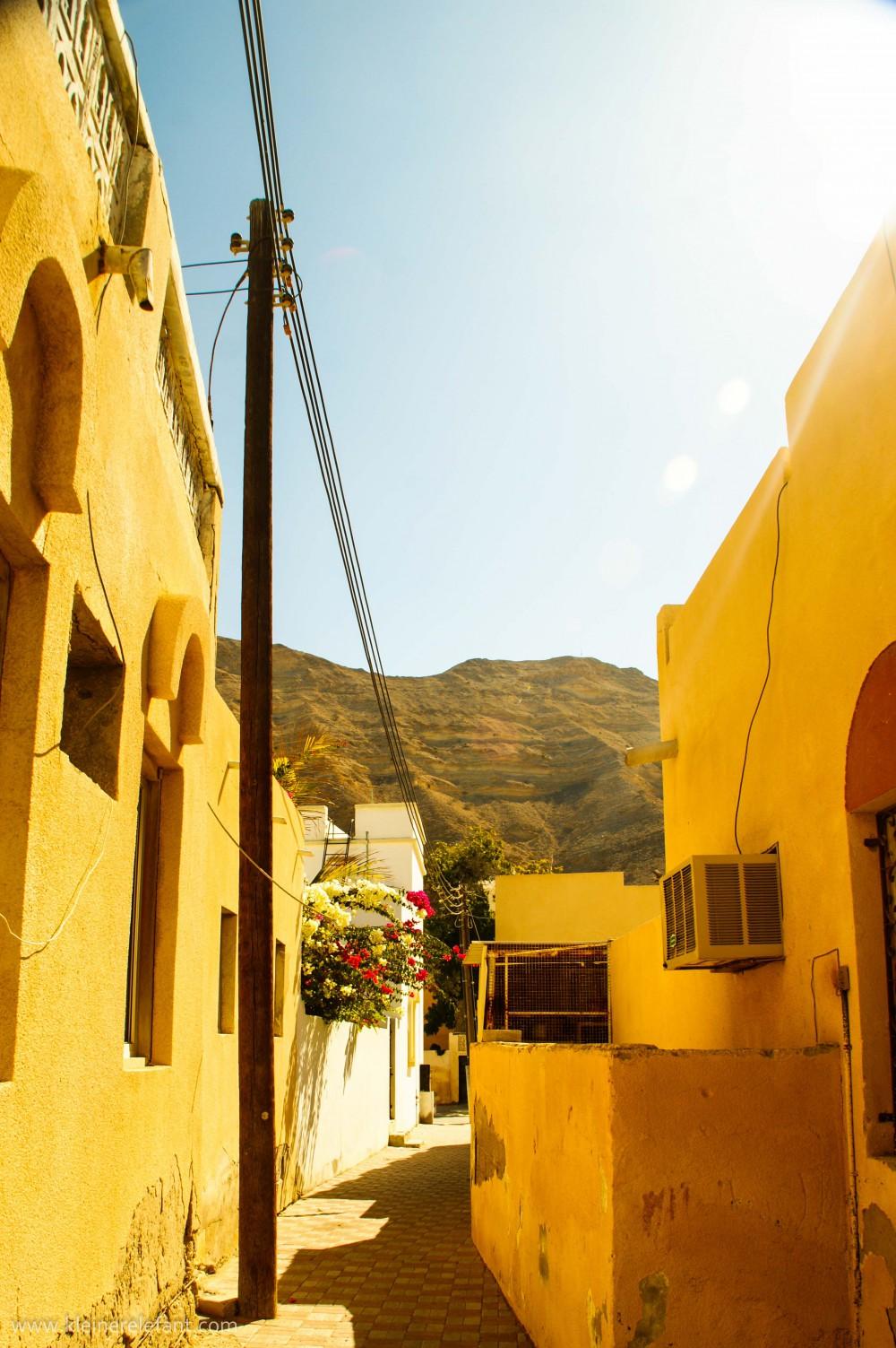 Gasse im Oman