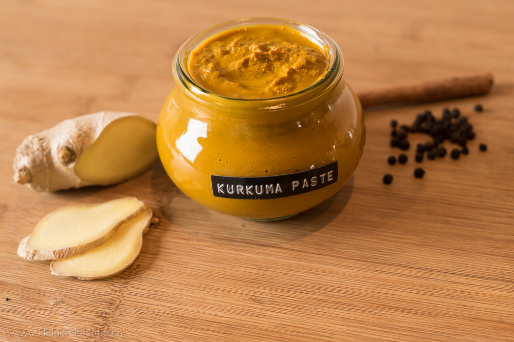 Kurkuma Paste für Goldene Milch