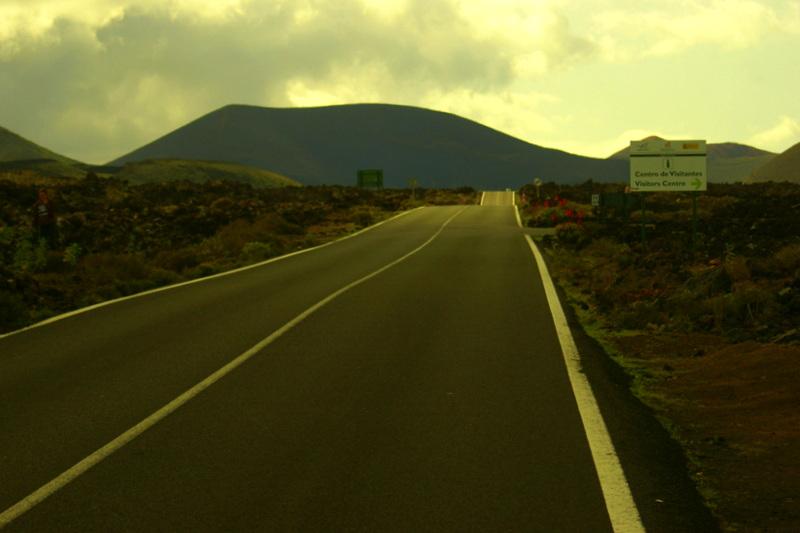 Eingang zum Timanfaya Nationalpark: