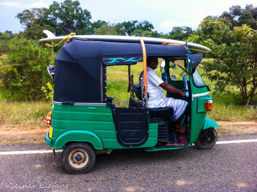 Tuktuk Fahrer Arugam Bay
