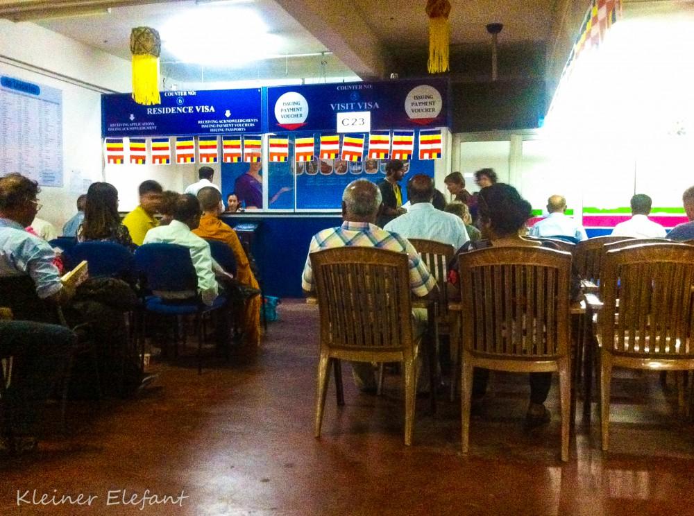 Visa Verlängerung in Sri Lanka