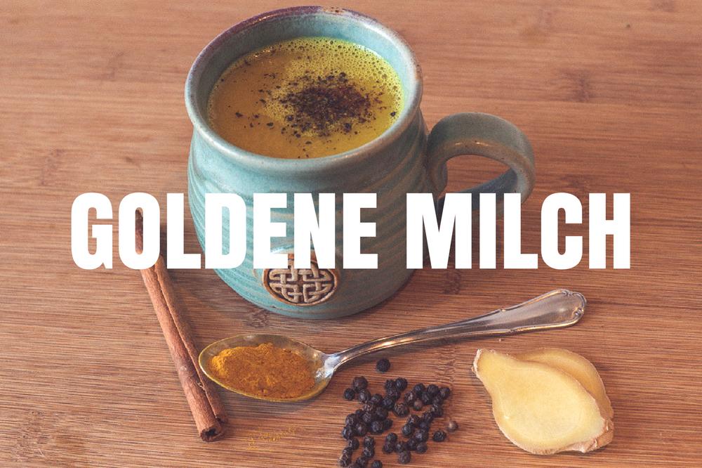 Goldene Milch Titelbild