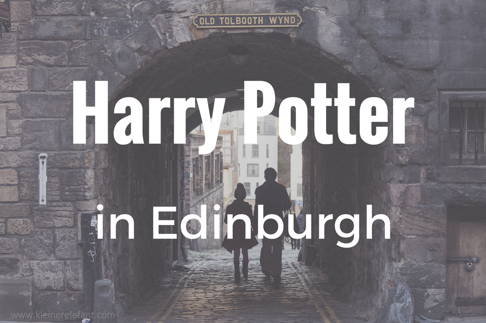 Harry Potter in Edinburgh