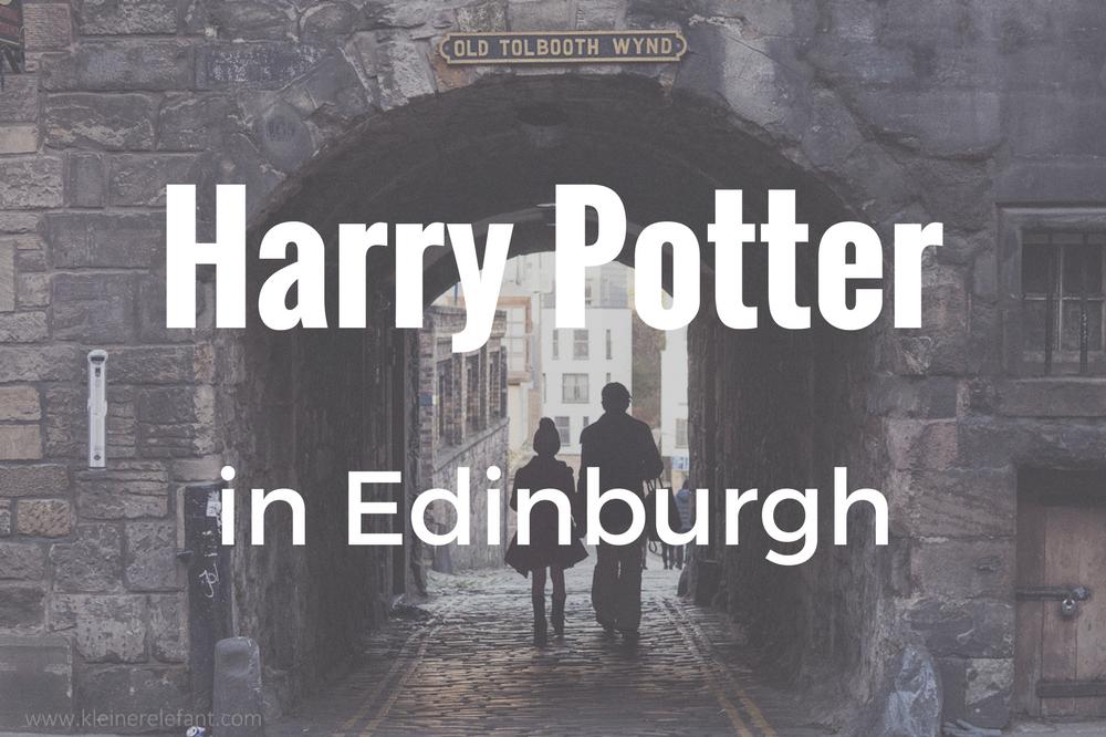 Harry Potter in Edinburgh