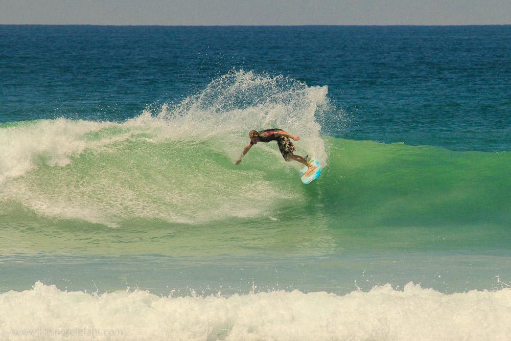 Surfer in Sri Lanka