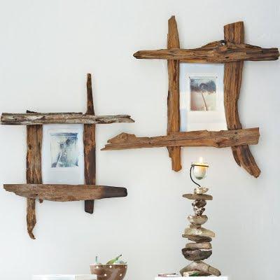 Bilderrahmen aus Treibholz