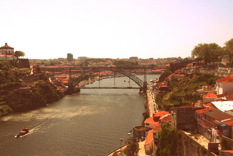 Blick über Porto und Douro