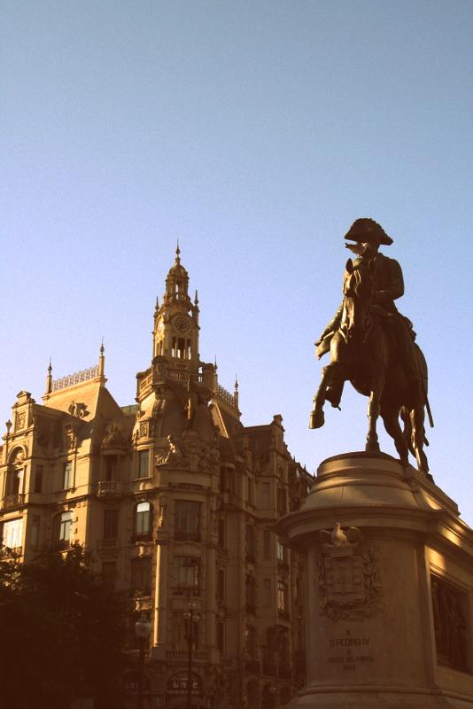 Dom Pedro IV in Porto