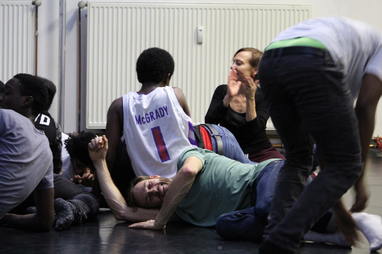 Open Up Tanzworkshop für geflüchtete Jugendliche