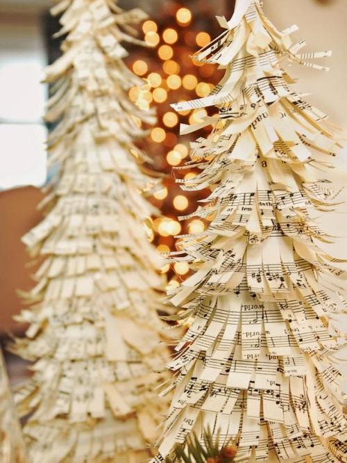 Noten Weihnachtsbaum