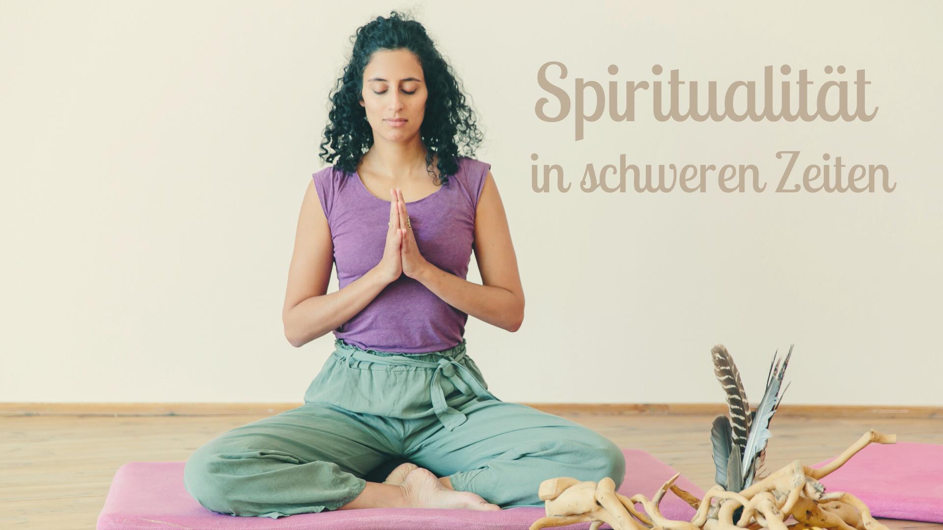 Spirituelle Praxis Yoga und Meditation