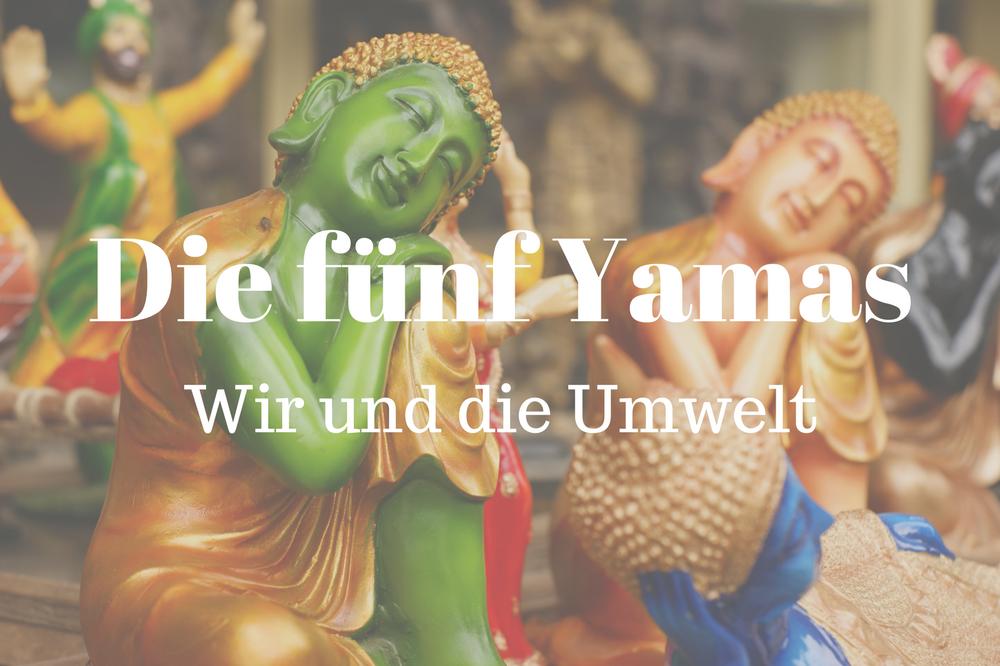 Die fünf Yamas Yoga Philosophie
