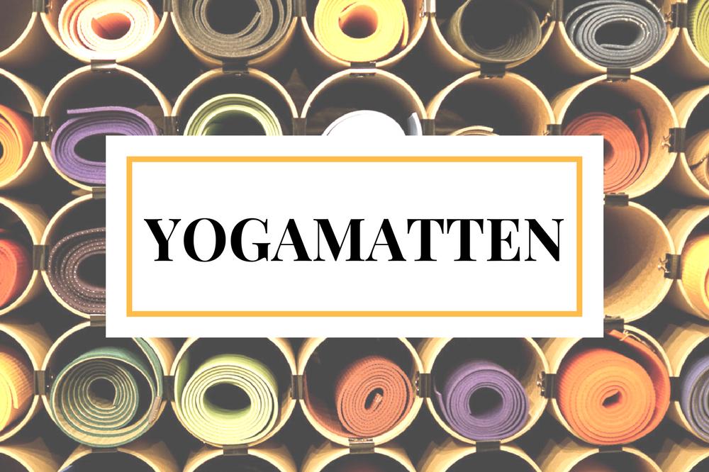 Yogamatte: Die Qual der Wahl